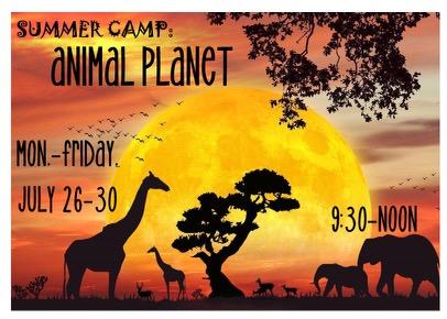 Animal Planet July 26-30
