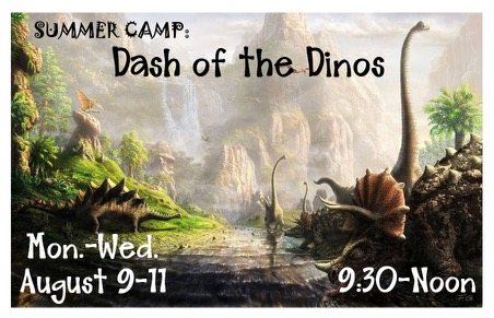 Dash of the Dinos August 9-11