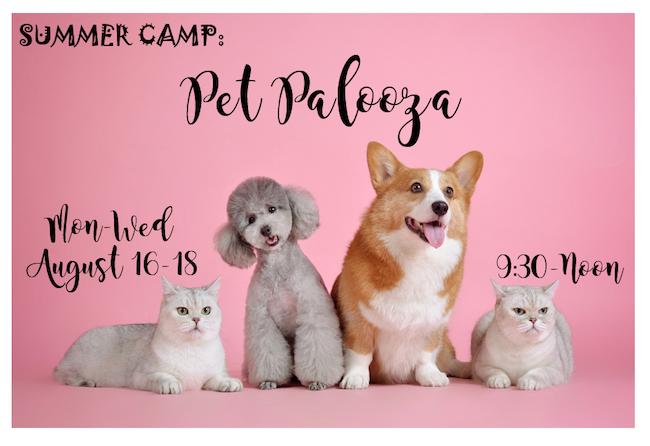 Pet Palooza August 16-18